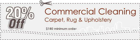 Cleaning Coupons | 20% off commercial cleaning | Carpet Cleaning New Jersey