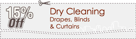 Cleaning Coupons | 15% off drapes, blinds and curtains | Carpet Cleaning New Jersey