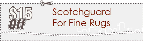 Cleaning Coupons | $15 off scotchguard for rugs | Carpet Cleaning New Jersey